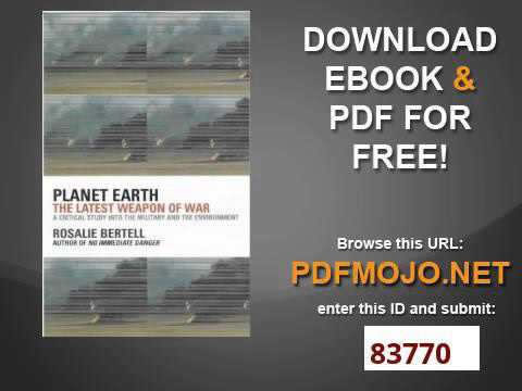The latest weapon Planet Earth
